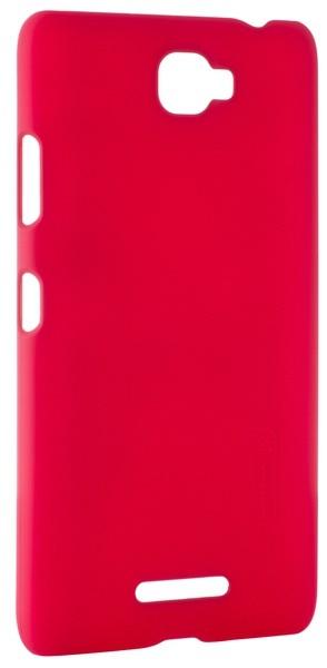 Чехол-накладка Nillkin Super Frosted Shield Lenovo S856 Red - Фото 1
