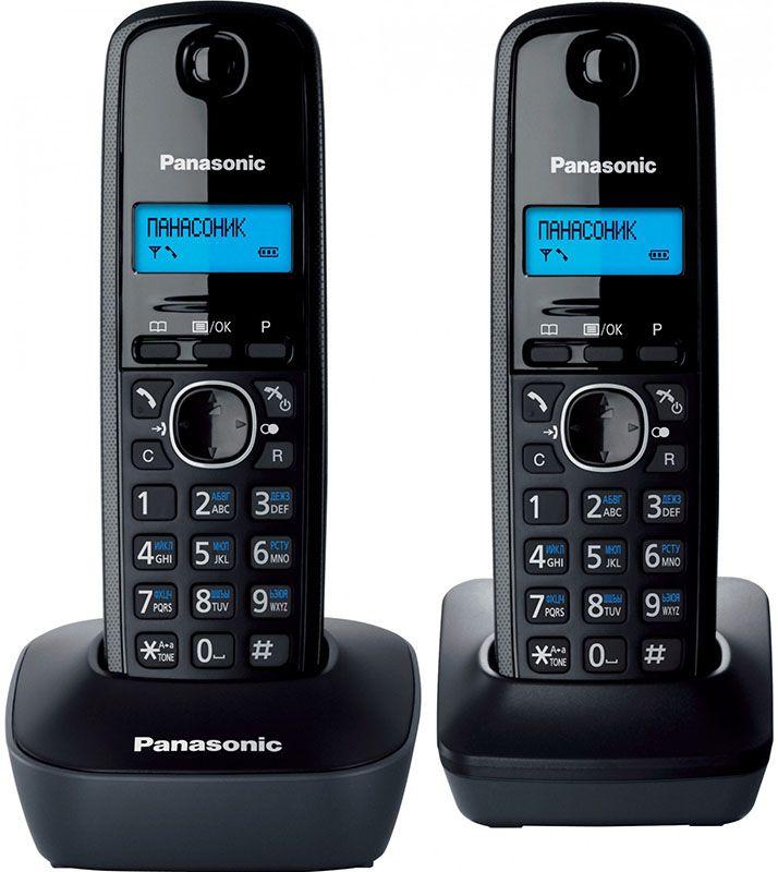 Купить Радиотелефоны, Panasonic KX-TG1612UAH Black Grey