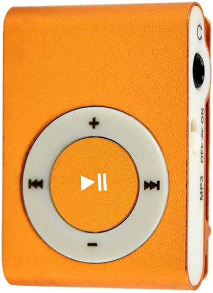 TOTO TPS-03 Without display&Earphone Mp3 Orange - фото