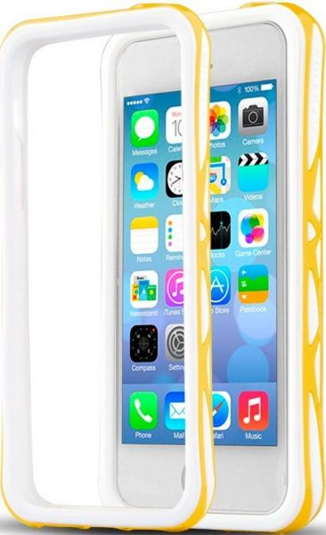 itSkins Venum для iPhone 5C Yellow - фото