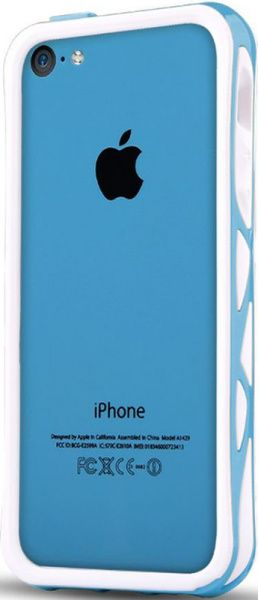 itSkins Venum для iPhone 5C Blue - фото
