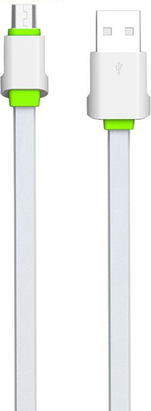 Купить Кабели и переходники, LDNIO LS01 Micro cable 2m White