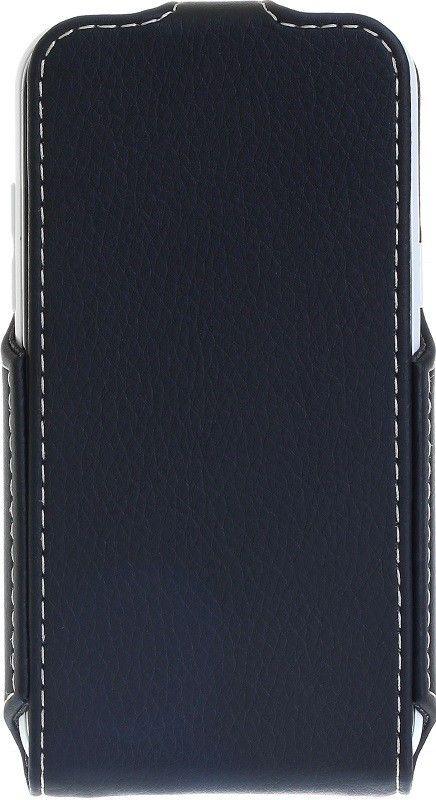 Чехол-флип RedPoint Flip Case для Samsung Galaxy J1 Duos SM-J100 Черный - Фото 1