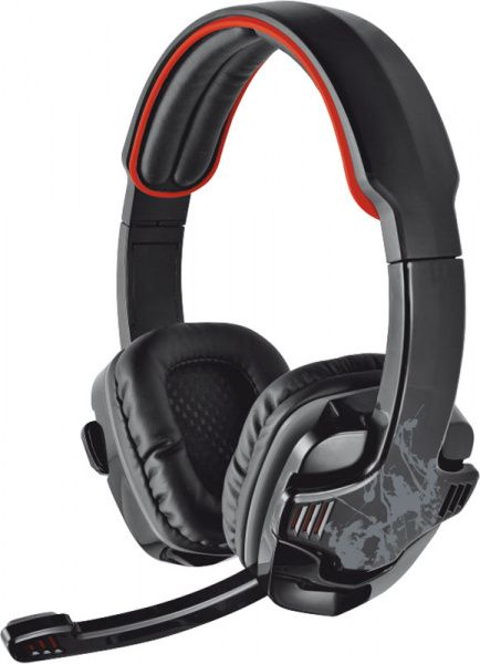 Trust GXT 340 7.1 Black/Red - фото