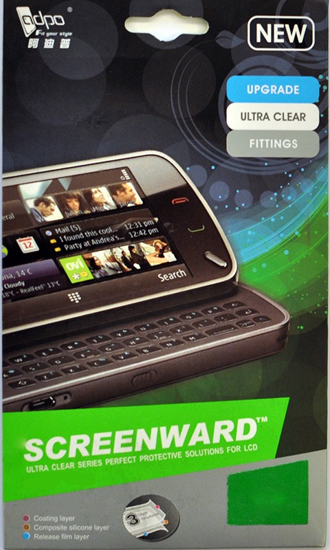Защитная пленка ADPO Samsung N7000 Note - Фото 1