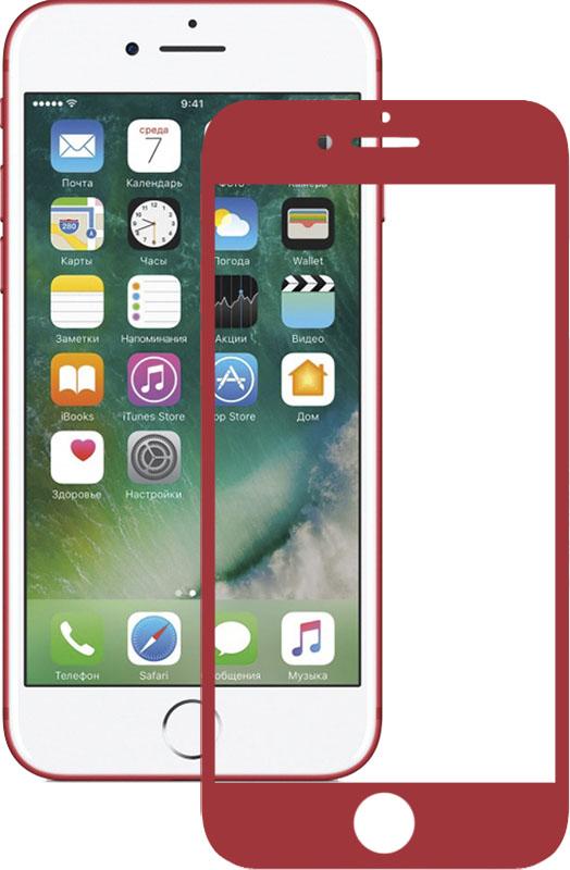 Защитные пленки и стекла, Mocolo 3D Full Cover Tempered Glass iPhone 7 Red  - купить со скидкой