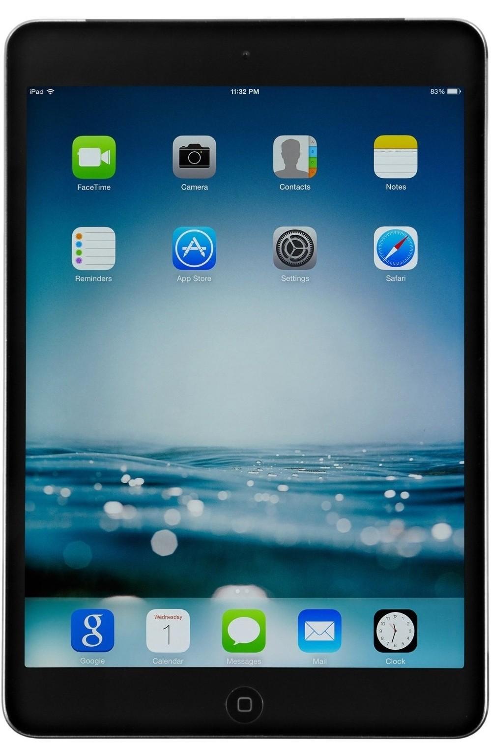 Планшет Apple A1490 iPad mini 2 Wi-Fi 4G 32GB (ME820TU/A) Space Gray - Фото 1