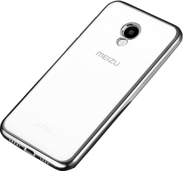 TOTO TPU case Electroplated Meizu M5 Note Grey - фото