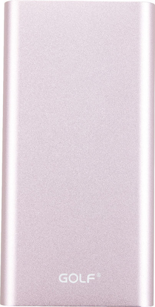 GOLF Power Bank 10000 mAh GF-112 3.1A Li-pol Rose Gold