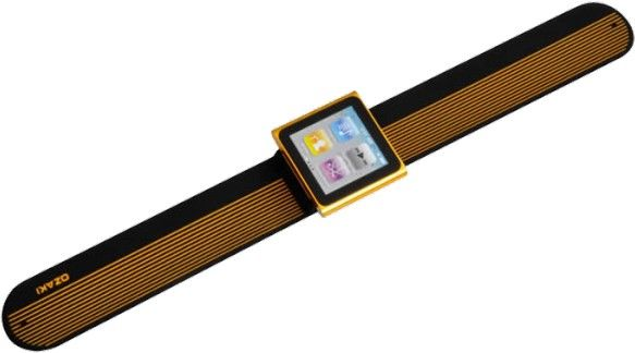 Ремешок Ozaki iCoat Watch+ для iPod nano 6G Black - Фото 1