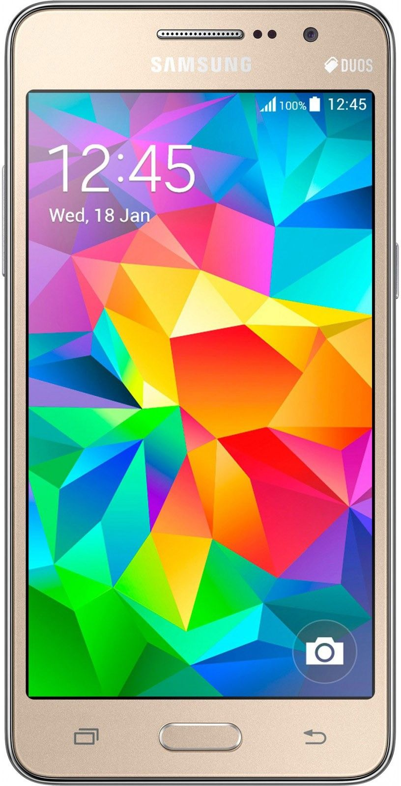 Смартфон Samsung Galaxy Grand Prime Duos G531H Gold - Фото 1