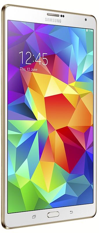 Планшет Samsung Galaxy Tab S 8.4 16Gb Dazzling White - Фото 1