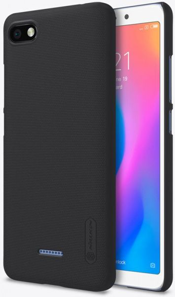 Nillkin Super Frosted Shield Xiaomi Redmi 6A Black - фото