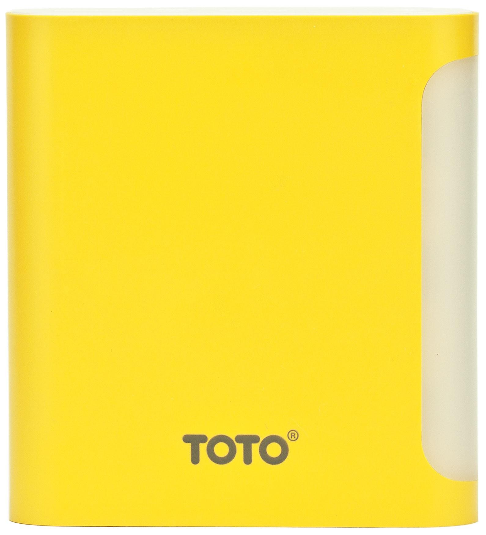 Портативная батарея TOTO TBG-47 Power Bank 10000 mAh 2USB 3,1A Li-Ion Yellow - Фото 1