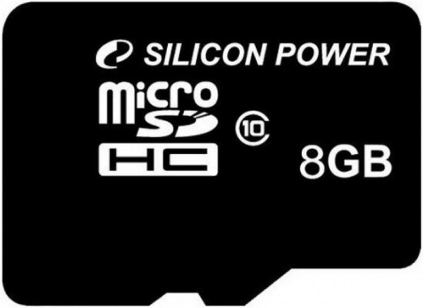 Silicon Power microSDHC 8Gb class10