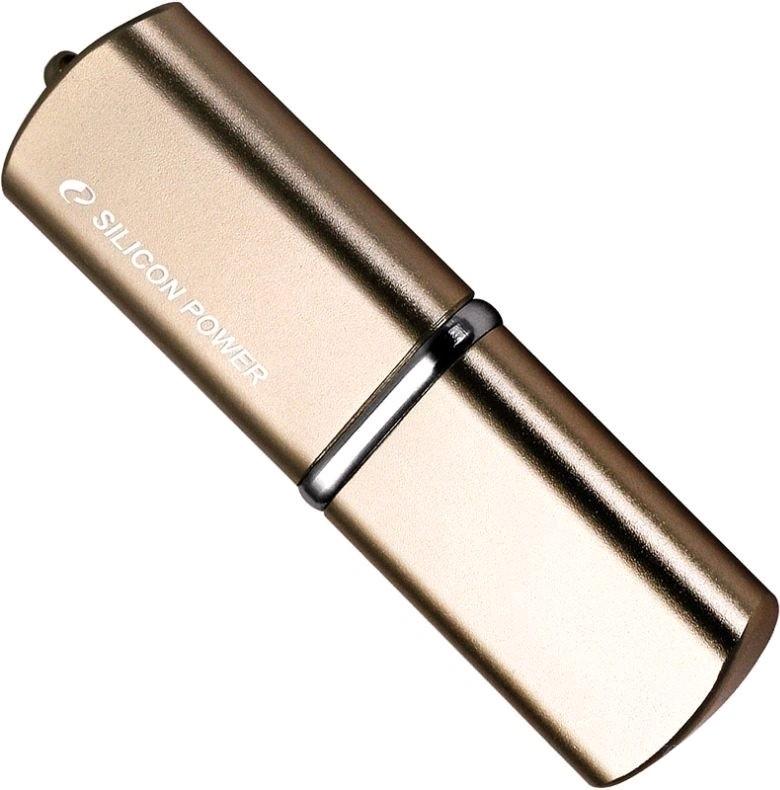 USB Flash Silicon Power LUX mini 720 8Gb Bronze - Фото 1