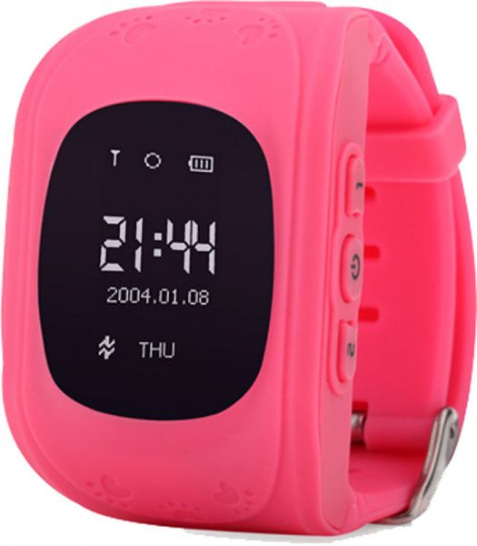 UWatch Q50 Kid smart watch Pink - фото