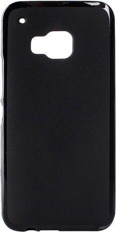 Чехол-накладка Drobak Elastic PU для HTC One M9 Black - Фото 1