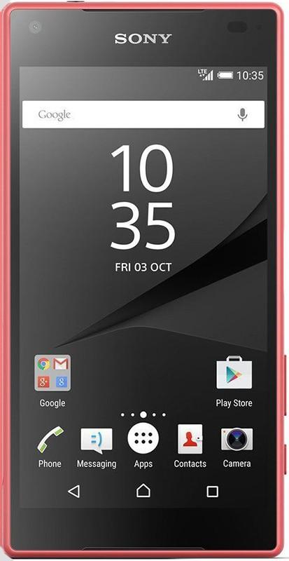 Смартфон Sony Xperia Z5 Compact E5823 Coral - Фото 1