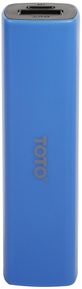Портативная батарея TOTO TBG-16 Power Bank 2000 mAh 1USB 1A Li-Ion Blue - Фото 1