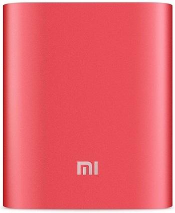Портативная батарея Xiaomi Mi Power Bank 10000mAh Red - Фото 1