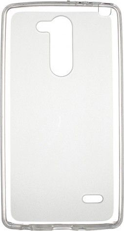 Чехол-накладка Drobak Elastic PU для LG G2 mini D618 White\Clear - Фото №1