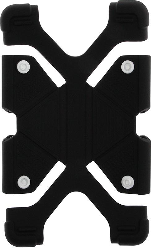 Купить Чехлы для планшетов, TOTO Tablet universal stand silicone case Universal 7/8 Black