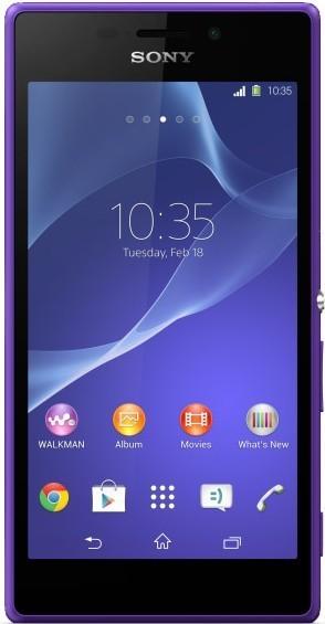 Смартфон Sony Xperia M2 D2302 DualSim Purple - Фото 1