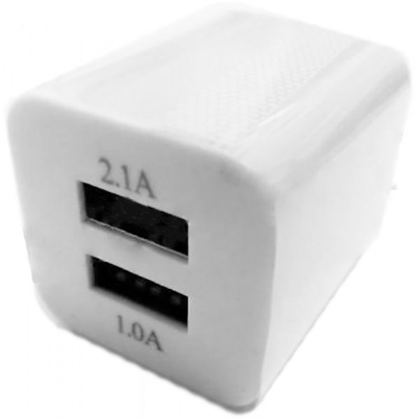 TOTO TZH-49 Travel charger 2USB 1A White