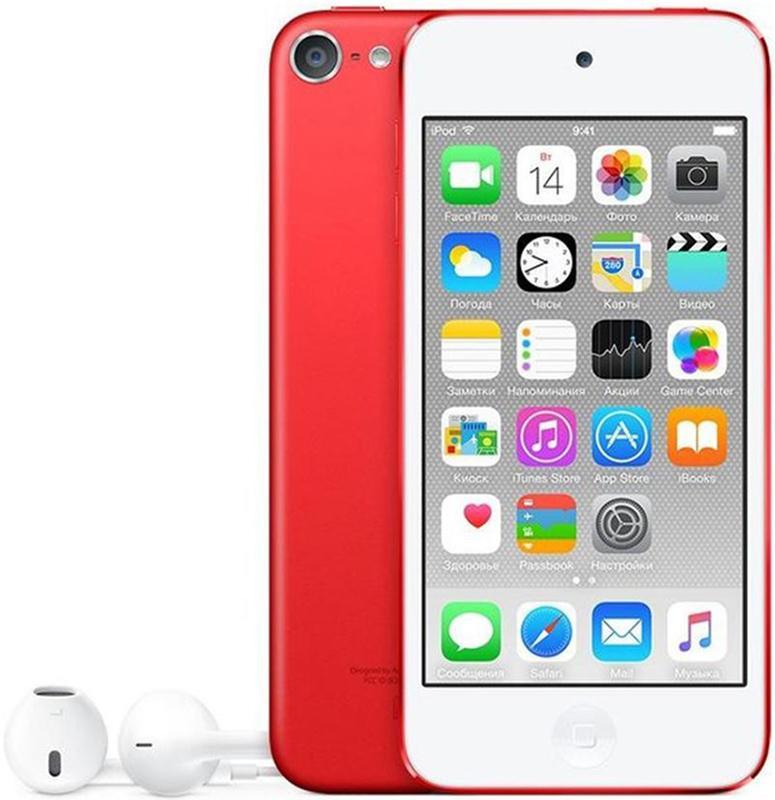 Apple iPod Touch 6Gen 128GB Red MKWW2