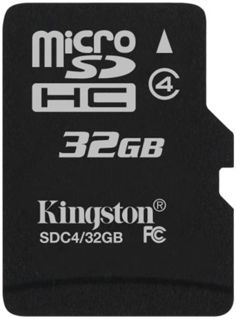 Kingston microSDHC class 4 32Gb