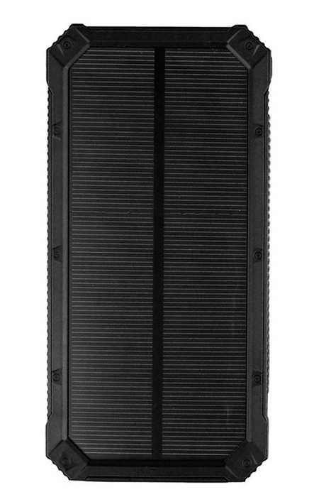 Портативная батарея TOTO TBJ-84 Solar Power Bank 10000 mAh Black - Фото 1