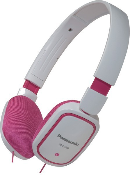 Наушники Panasonic RP-HX40E-PW White/Pink - Фото 1