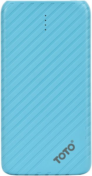 Портативная батарея TOTO TBG-14 Power Bank 4000 mAh 1USB 1A Li-pol Blue