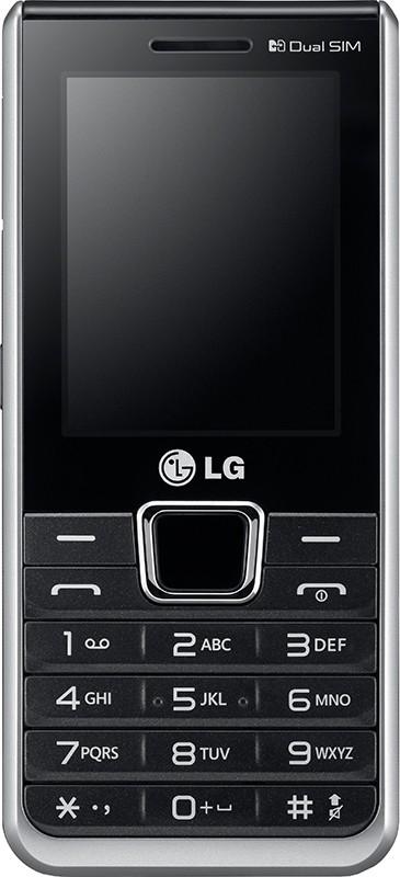 Мобильный телефон LG A390 BK Black - Фото 1