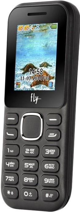Мобильный телефон Fly DS104D Black - Фото 1