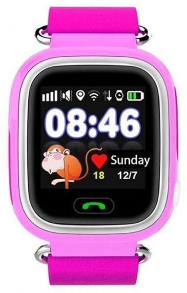 UWatch Q90 Kid smart watch Pink - фото