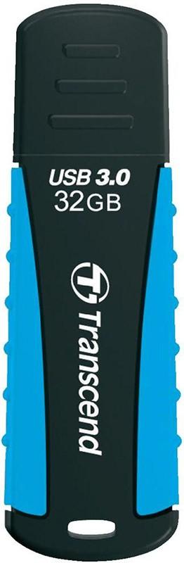USB Flash Transcend JetFlash 810 USB 3.0 32Gb Baby Blue - Фото 1