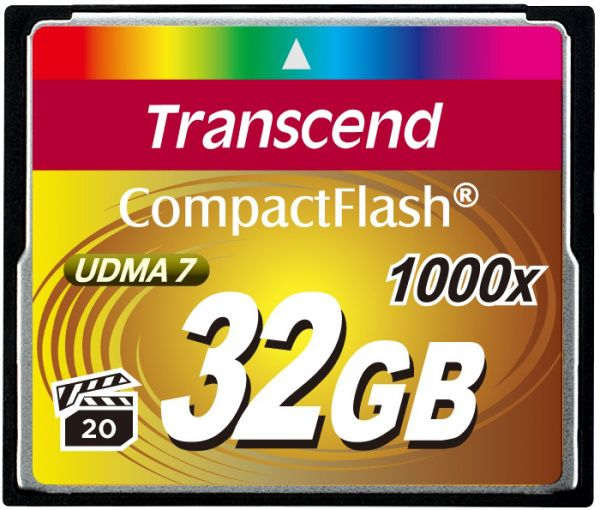 Transcend CompactFlash 1000x 32Gb