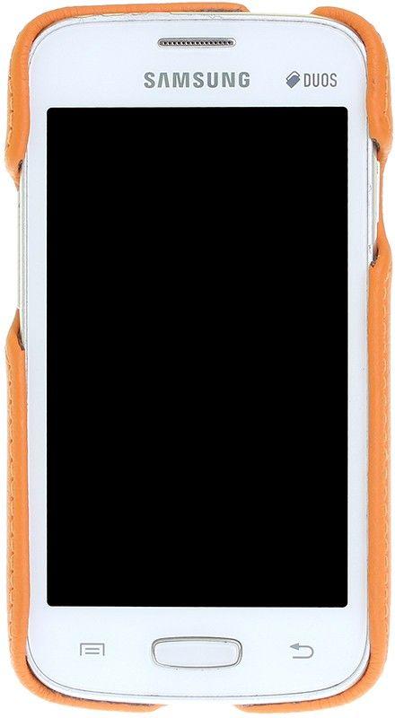 Чехол-накладка RedPoint Smart для Samsung G313/S7262/S7260 Оранжевый - Фото 1
