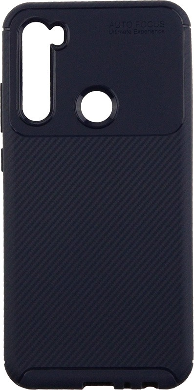 Купить Чехлы для телефонов, TOTO TPU Carbon Fiber 1, 5mm Case Xiaomi Redmi Note 8 Dark Blue