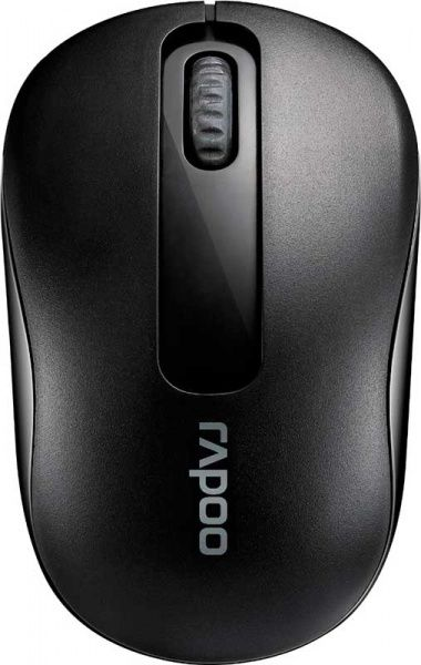 Rapoo Wireless Optical Mouse M10 Black - фото