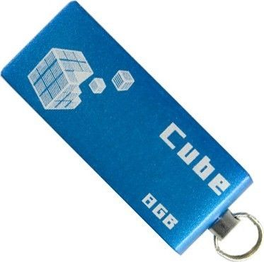 USB Flash Goodram Cube 8Gb Blue - Фото №1