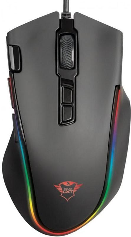 Купить Клавиатуры и мыши, Trust GXT 188 Laban RGB Mouse (21789) Black