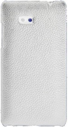 Чехол-накладка Melkco Snap leather cover для HTC Desire 600 white - Фото 1
