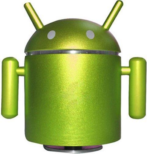 Портативная акустика Drobak Android Robot FM/MP3/USB/MicroSD Green - Фото 1