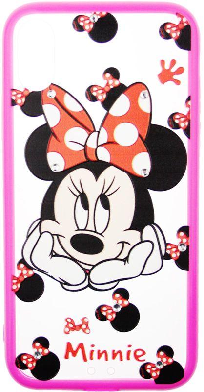 Купить Чехлы для телефонов, TOTO TPU Сartoon Network Case IPhone X Mini Mouse Pink