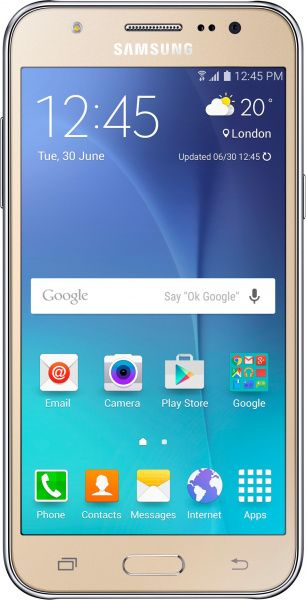 Samsung Galaxy J5 J510H/DS 2016 Gold - фото