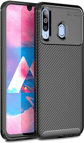 TOTO TPU Carbon Fiber 1,5mm Case Samsung Galaxy A40s/M30 Black