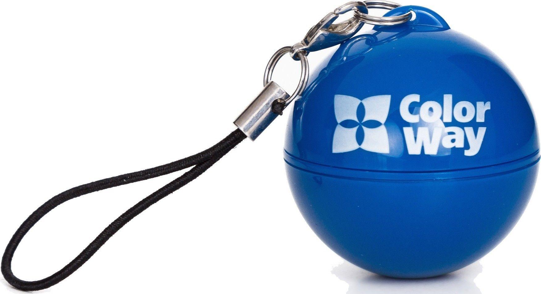 Портативная акустика ColorWay CW-002 вибро blue - Фото 1